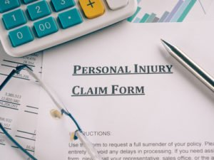 Personal injury claim process outline
