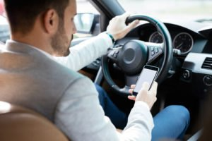 texting while driving accidents in South Carolina