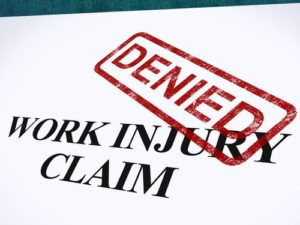 What happens if my workers compensation claim is denied?
