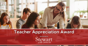 Teacher Appreciation Award 2019